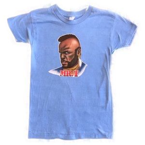 Other - Vintage Mr. T iron on t shirt
